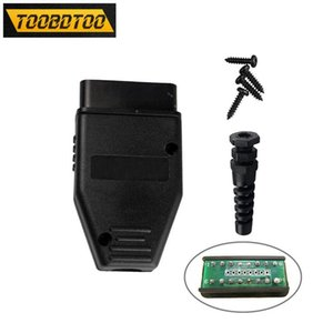 Without Any Software OBD2 16pin connector Male Plug OBD2 With PCB Car Diagnostic Tool 16PIN Male Plug With Best price