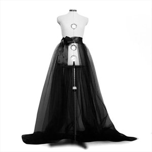 Women Tulle Tutu Long Skirts Wedding Party Prom Bandage Mesh Gown Maxi Skirt Ladies Costume Summer Gothic skirt Fashion 2020 New