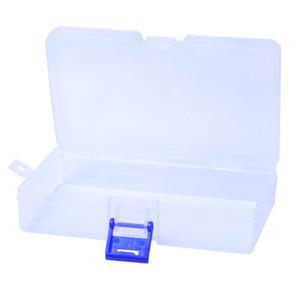 Strumenti per cucire Accessorio Clear Components Plastic Components Box Nail Art Tips Storage Grid Box Case Cosmetics Craft Organizer Contenitore Caso