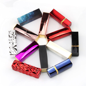 Магнитный магнит 12.1MM Empty Помада Tube Top Quality Makeup Lip Balm Plumper Rouge DIY Cosmetic упаковочные контейнеры 10шт / много