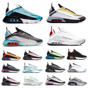 Новые 2090 мужчин Женщины кроссовки чистые платины чистые белые скорости желтые розовые мужские тренажеры Chaussures спортивные кроссовки размером 36-45