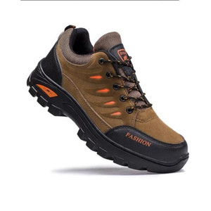Outdoor Men Hiking Shoes Waterproof Ant Trekking Sneakers Male Mountain Climbing Shoes Lace Up Sport Shoes Big Size 38-45