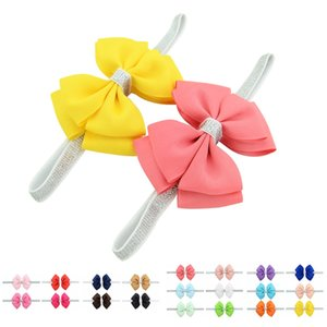 10PCS Headband Kid Girl Baby Toddler Bow Flower Hair Accessories Ribbon Headwear
