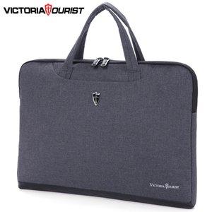 Victoriatourist portátil 14 15.6 mujeres de los hombres con estilo del bolso de la cartera del negocio Ligera bolsa de mensajero portátil