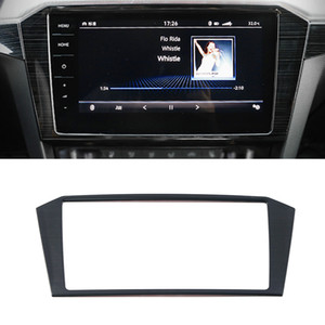 Автомобильные аксессуары GPS навигации крышки экрана панели Обрезка наклейки рамки интерьера для VW Volkswagen Arteon 2017-2020