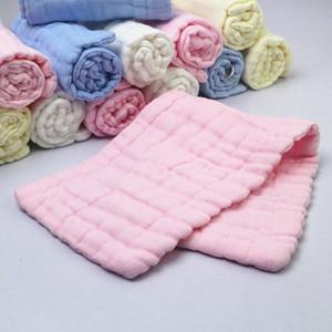 12 couches Couches pour bébés en coton Lavé Gaze Mouchoir bébé Nappy coton respirant Diapers Dedicated Qe5P Classé n