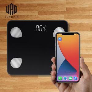 Guangzhou Juropin Bathroom Smart Scale New High Capacity Led Display Digital Weight Bluetooth Body Fat Scale