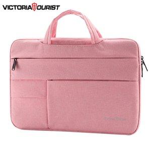 Victoriatourist portátil 14 15,6 hombres mujeres de negocios con estilo bolso Maletín de múltiples capas de la bolsa de mensajero del espacio