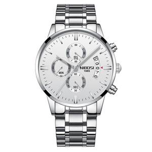 OROLOGIO Masculino Männer Uhren Berühmte Top Marke Männer Mode Lässige Kleid Uhr Nibosi Militär Quarz Armbanduhren Saat Versand