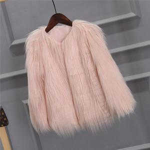 Faux Fur Coat Winter Fur Jacket Women Streetwear Pink Coat Fluffy Jacket Vintage Furry Fuzzy Jackets Soft Jackets 2020