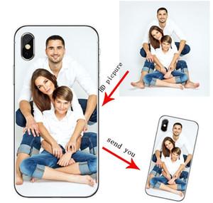 Funda personalizada de la caja del teléfono SILE SILE TPU para iPhone SE 6 6 más 7 8 PLUS Caja de teléfono personalizada para iPhone X x Sqctut Bdejewelry