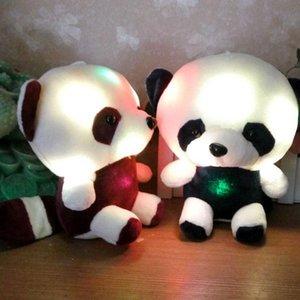 Panda LED criativo Light Up Urso Dolphin Bichos de pelúcia Plush Toy incandescência do presente para m de aniversário decoração de casa
