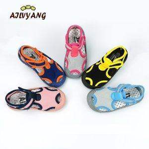 Ailvyang Brand enfants Sandales d'été Chaussures bébé garçons filles lycra élastique chaussures chaussures enfants Casual bonbons couleur chaussures A08 y200404