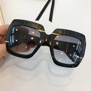 0484s شعبية نظارات المرأة مربع نموذج الصيف نمط 0484 الأفعى الجلد الإطار أعلى جودة uv حماية مختلط اللون مع حالة الساخن بيع