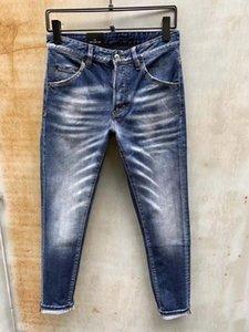 DSENQI NEW Men Jeans Zerrissene Jeans-Hosen für Biker Outwear Man Pants 926 EzFG #