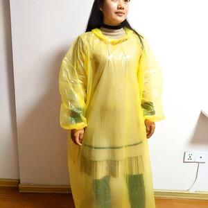 1FZ3 Rainfreem Men Rain Raincoat Women Impermeable Jacket Plus Size S-6XL Yellow Poncho Camping Rainwear Hooded Rain Gear Clothes CX200629