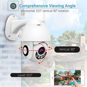 Камеры 1080P CCTV IP-камера PTZ Два аудио Водонепроницаемая открытый WiFi спортивный голосовой сигнализацию инфракрасное ночное видение