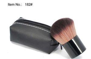 Frete grátis Best-seller boa venda maquiagem nova face kabuki pó pincel de buffer # 182 10pcs