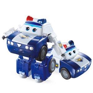 Yeni Sezon Büyük Süper Wings Kim Deformasyon Uçak Robot Eylem Süper Kanat Dönüşüm oyuncaklar Şekil