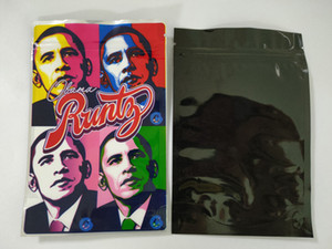 Obama Runtz Mylar Bag 3.5g Joker Up Retail Packaging Wonka Dank Gummies Chuckles 정글 소년 패키지 지퍼 가방 vape 식품 저장 봉투