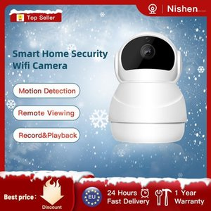 1080P IP كاميرا Wifi كاميرات مراقبة WIFI WIFS 2-Way Audio Home Security Camera PTZ Mini Videecam Motion Detect1