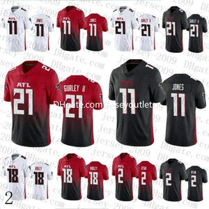 2020 New Mens AtlantasFalcon11 Julio Jones 21 Todd Gurley II 18 Ridley Stitched 2 Matt Ryan Football Jerseys 19