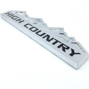 Metal Chrome Banhado Alto Country Car Logotipo Emblema Emblema 3D