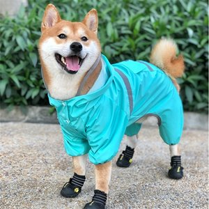 الولزية كورجي الكلب المعطف القلطي bichon فرايز شنافير شيبا إينو الكلب الملابس ماء الملابس بذلة الحيوانات الأليفة الزي المطر 201030