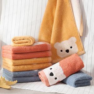 Children's handkerchief cotton towel Cute Bear Kids Soft Face Towels For Baby Bath Towel 30*60cm