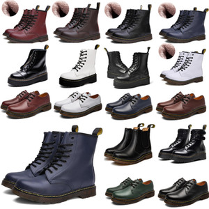 2021 designer 1460 ankle 1461 platform 2976 zip detail men mens women womens fur snow martin fox martins boot desert boots a2pc#
