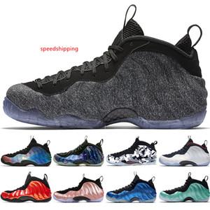 2019 Alternate Galaxy 1.0 2.0 Olympic Penny Hardaway Black Metallic Gold Mens Basketball Shoes foams one men sports sneakers women 40-47
