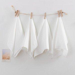 MCAO Eco-friendly Bavaglino per la garza del bambino No Asciugamano quadrato di cotone fluorescente 25 * 25cm 30 * 30cm 1 pz W300350-CP1