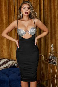 Venus Vacation Sms Sexy Bikini Beach Beach Beach Cinghia Backless Coltivazione One Morality Dress Gem Chest Cup Top Diamante