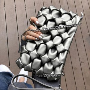 Women Envelope Clutch Bag 3D diamond Party Evening Bags lady Leather Ladies Shoulder messenger Bag small Female Clutches Purse
