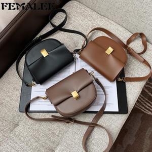 Сумки на ремне 2021 Корейский простые лоскутные сумки ретро женщины сплошной цвет Crossbody Bolsa модный дизайнер дамы осенью зимние кошельки