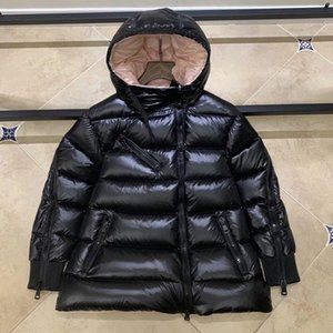 Zipper Down Oblique Estilo de invierno Parkas Chaqueta Abrigos con capucha Ropa con capucha EUROPEA Y AMERICANA SALETE WOME'S WOME KOVDW