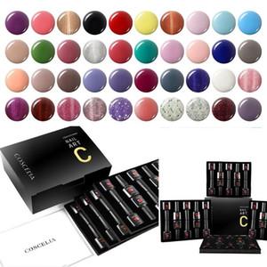 COSCELIA 40Pcs Set Gel Nail Polish Set With Gift Box 8ML UV LED Manicure Set For Nail Art Kit Soak Off Gel Varnish For Manicure