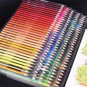 Brutfuner 120/160 Renkler Ahşap Yağı Renkli Kalemler Seti Sanatçı Boyama Çizim Kroki Okul Hediyeler Sanat Supplie Dropshipping 201223