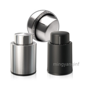 Wine Bottle Stoppers,Real Vacuum Champagne Stoppers,Stainless Steel  Plastic Reusable Wine Preserver,Wine Corks Keep Fresh MY-inf0442