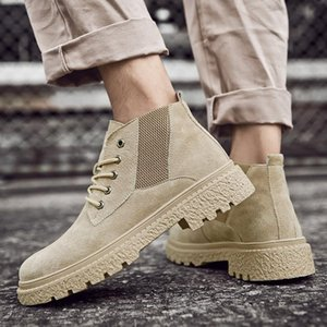Hot fashion sport cuero comfortable wear Mens leather shoe mens Walk Casual Sneakers casual boots spring hot sale mesh running