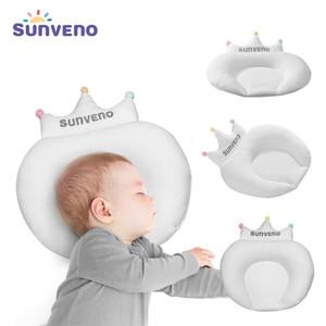 Sunveno Baby Kissen Säugling Neugeborene Schlafsupport Concave Cartoon Kissen Kissen Verhindern Flachkopf LJ201208