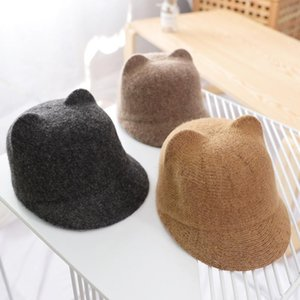 Autumn Winter Children's Woolen Hat Cute Equestrian Hat for Fashion Boys and Girls Duck Tongue Cap Pure Woolen Warm Outfit