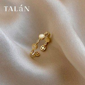 Talan Gold Cat's Eye Zirkon Ring mit einstellbarer Öffnung für Frauen