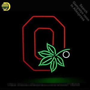 Ohio State Buckeyes Neon Sign Restaurant neon bulb Sign neon lights Sign Real glass Tube Handcraft Iconic Display light up