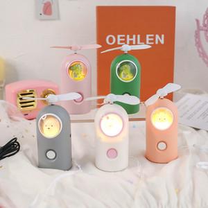 Fan LED luci per camera Vanity Fairy luci luci notturne luce portatile LED coniglio lampada bella unicorno lanterna estate illuminazione all'aperto