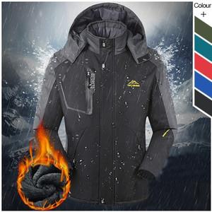 New Winter Coat Men Outdoor Windproof Waterproof Multi-function Jacket Warm Overcoat Jacket Coat Fishing Sports Jackets 201013