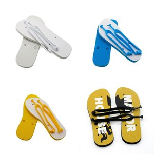 Flat Bottomed Sublimation Blanks Slipper Rubber Home Flip Flops Outdoor Sandy Beach Travel Shoes Originality Male Women Men 14ex N2