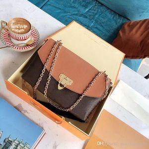 desenhador de venda quente bolsa de luxo bolsa Placide L mulheres teste padrão de flor no ombro cadeia de designer alça sacos senhoras bolsas saco com caixa