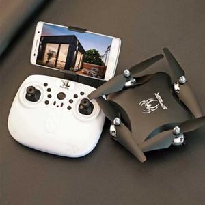 s16 Drones Drones Quadcopter con fotocamera HD Sensore di gravità Rc Voice Control Fpv trasmissione video 2.4grc Drone Giocattoli 720p