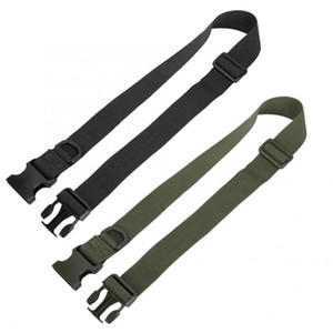 Elastic Training Waist Belt Outdoor Portable Multifunction Simple Tactics Waist Belt for Training CS Operations Sports Safety